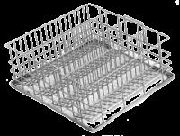 Ecomax 4 Division tilt glass rack for G503 (500 X 500mm) 303171