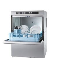 Hobart F504S Ecomax Dishwasher with Drain Pump and Water Softener