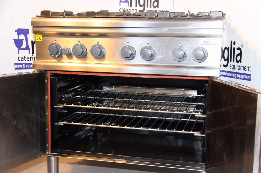 Exceptional Electrolux Natural Gas 6 Burner Oven