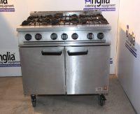 Falcon Dominator Natural Gas 6 Burner Oven