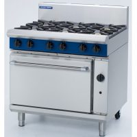 Blue Seal 6 Burner Static Natural Gas Oven G506D-NG