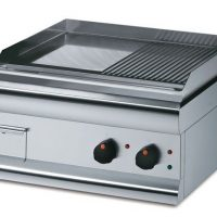 Lincat GS6/TR Half-Ribbed Electric Griddle