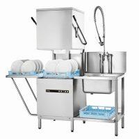 Hobart Ecomax Hood Dishwasher H602 with Drain Pump
