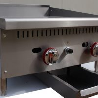 Infernus Counter Top 2 Burner Gas 600mm Griddle