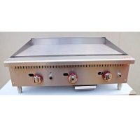 Infernus Counter Top 3 Burner Gas 900mm Griddle