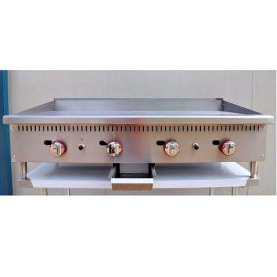 Infernus Counter Top 4 Burner Gas 1200mm Griddle
