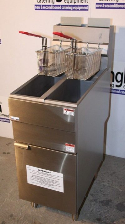 Infernus Gas Twin Tank Fryer