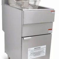 Infernus LPG Gas Single Tank, Twin Basket Fryer