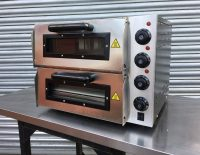 "Infernus Double Deck 20"" Pizza Oven"