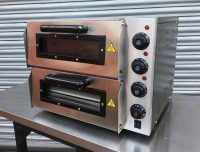 "Infernus Double Deck 16"" Pizza Oven"