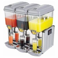 Interlevin 3 x 12 Ltr Juice Dispenser LJD3
