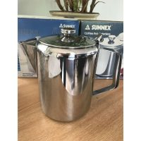 8 Stainless Steel Coffee Pots 70oz (K749)