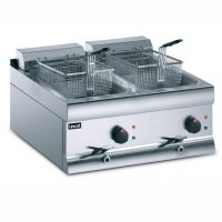 Lincat Twin Tank Electric Counter Top Fryer DF66 DF612 DF618