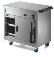 Lincat Hot Cupboard with Plain Top P6P2
