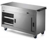 Lincat Hot Cupboard with Plain Top P6P4