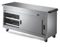 Lincat Hot Cupboard with Plain Top P6P5
