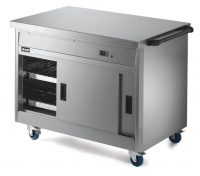 Lincat Hot Cupboard with Plain Top P8P3