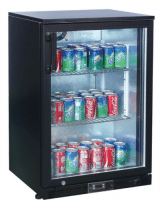 Single Door Back Bar Chiller Bottle Cooler
