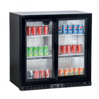 KOLDBOX KBC2SL Sliding 2 Door Bottle Cooler 208L