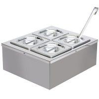 VICTORIAN BAKING OVENS 4 Pot Windsor Quatro Chilled Food Server