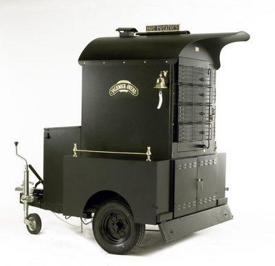 VICTORIAN BAKING OVENS Big Ben Mobile Potato Baking Oven - LPG