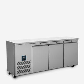 WILLIAMS Jade 3 Door 374ltr Slimline Counter Freezer LJSC3-SA