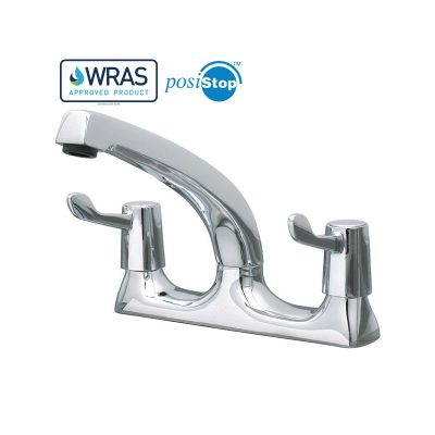 "Catertap 1/2"" Deck Mounted Mixer Tap with 3-inch lever WRCT-500ML3"