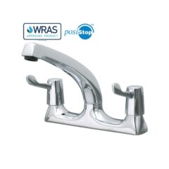 """Catertap 1/2"""" Deck Mounted Mixer Tap with 3-inch lever WRCT-500ML3"""