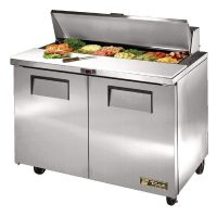 True Salad Prep Counter 2 Door 340Ltr