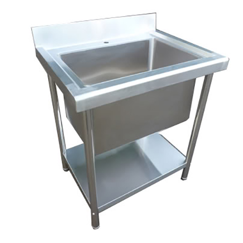 Stainless Steel 780mm Single Deep Bowl Sink