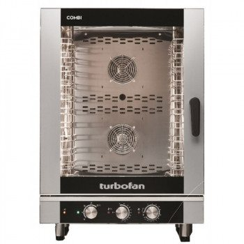Blue Seal EC40M10 Turbofan Manual 10 Grid Electric Combination Steamer Oven