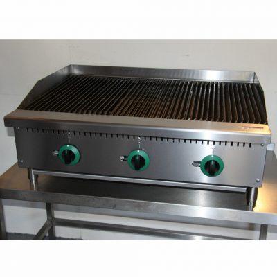 Infernus Gas 3 Burner Radiant Heat Char Broiler