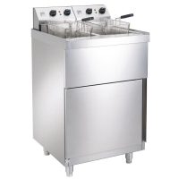 Parry NPDPF6 Electric Double Freestanding Fryer