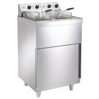 Parry NPDPF6/9 Electric Double Freestanding Fryer 2 x 9L