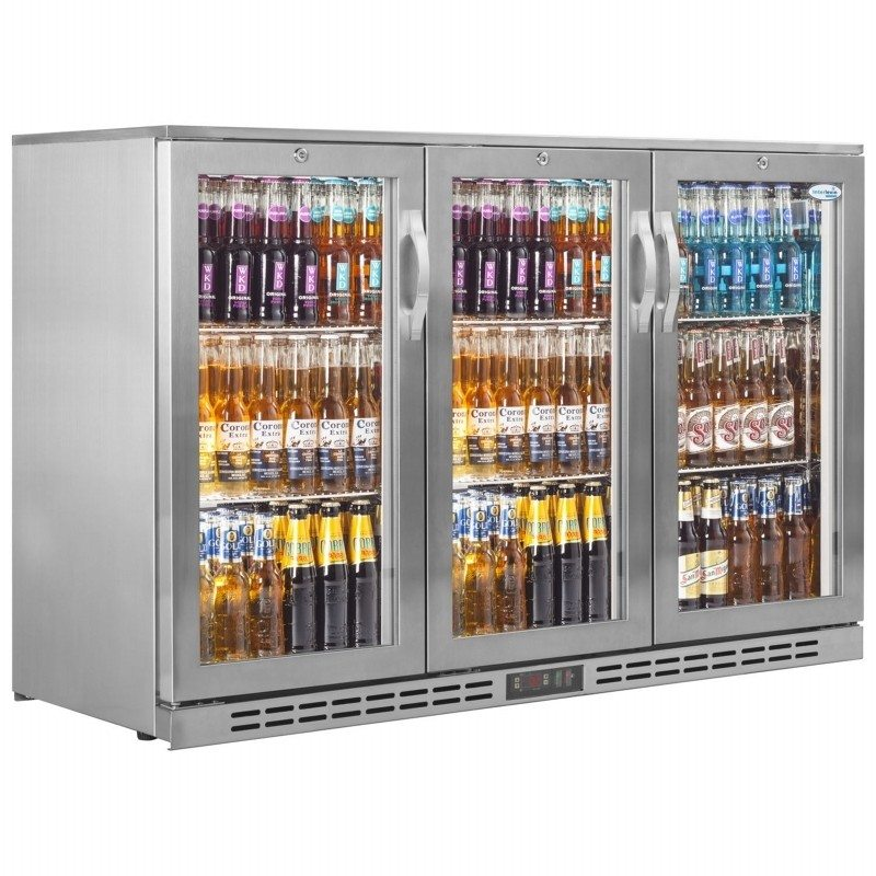 Interlevin Stainless Steel PD30H Back Bar Chiller