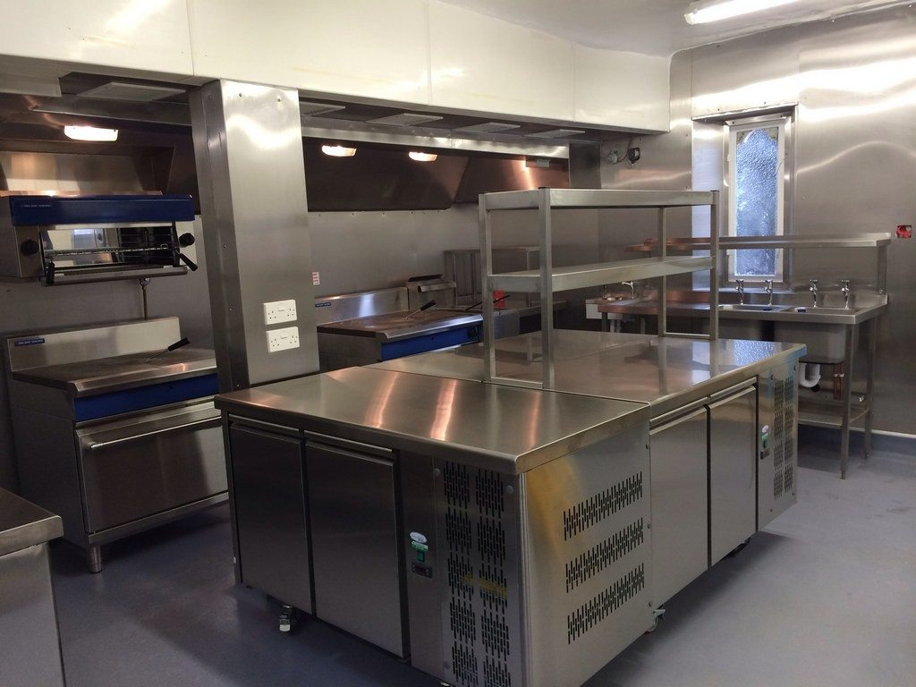 Complete kitchen refit at the oaksmere anglia catering for Complete new kitchen