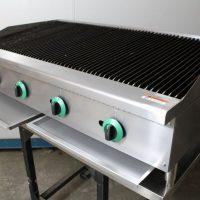 Infernus Gas 4 Burner Radiant Heat Char Broiler