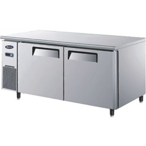 Atosa YPF9037 Double Door Undercounter Freezer